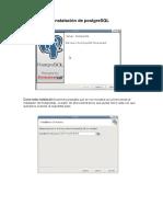 Instalación de PostgreSQL
