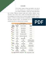 Glosario de Términos de Quimica Organica