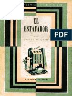 20 - El Estafador - James M. Cain