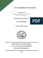 Sample Seminar Report From KPR Protected