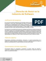 Curso de Derecho de Autor en La Industria Del Software Ficha Técnica1
