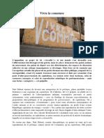 Vivre La Commune - Comité Erotique Révolutionnaire