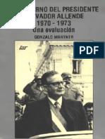 Gonzalo Martner - Una Evaluacion Del Gobierno de Salvador Allende