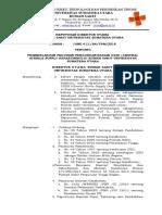 Sk Pemberlakuan Pedoman Pengorganisasian Cssd