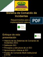 02 Sistema de Comando de Incidentes