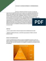 NIVELES de ATENCION y Sistema de Rferencia y Contrarreferencia