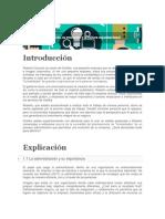 Tema 1. Administración, Su Evolución y La Cultura Organizacional