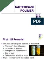 Karakterisasi Polimer