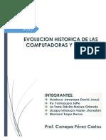 Evolucion Historica de Las Computadoras y Las TIC