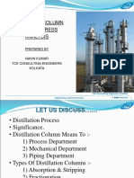 Distilation Column Piping & Stress Analysis