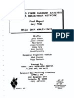 Distributed Finite Element Analysis Using a Transputer Network