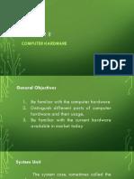 Chapter II - Computer Hardware