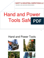 1-Hand Power Tools- Safety