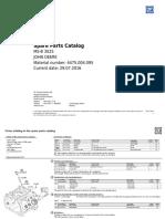 Spare Parts Catalog MS-B3025