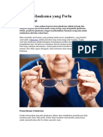 AsKep Glaukoma Yang Perlu Diketahui