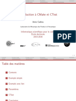 Cours Cmake Ctest