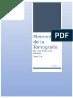 Elementos de La Tomografia