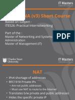CCNA Short Course - Week 4