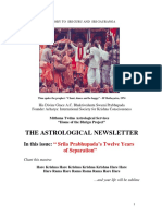 The Astrological Newsletter - Issue-20 - 2011 April 12