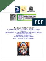 Shri Damodar Fide 2017