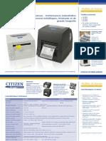Citizen CL-S Desktop Datasheet FR Web