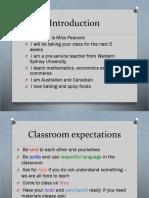 lesson 1 presentation yr9