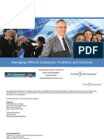 Managing Difficult Employees-KD