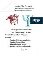 Monografia Psicologia de La Comunicacion