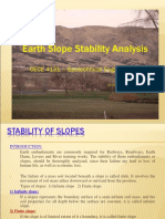 MSP Slope Stability