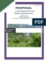 Proposal Permohonan Kebun Bibit Rakyat (KBR)