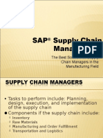 Supply Chain Management Sap