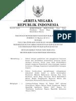 Permen Kemenhut Nomor p.18_menhut-Ii_2012 Tahun 2012 (Permen Nomor p.18_menhut-Ii_2012 Tahun 2012)