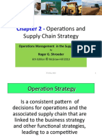 Chapter 2 Schoeder- Operations and Supply Chain Strategy