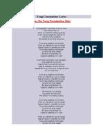 1. Yeng Constantino Lyrics
