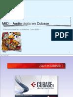 NTICs Cubase