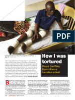 The torture of Kamwenge Town Mayor