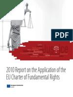Raportul Pe 2010 Privind Aplicarea CDF En