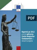 Raportul Pe 2012 Privind Aplicarea CDF