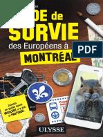 Guide de Survie Des Europeens a Montreal