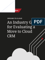 Hitachi Solutions Crm Ground to Cloud eBook