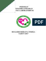 Pedoman Pengorganisasian Inst Laboratorium