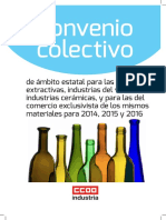 Conveni Vidre 2014-2016