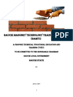 Bauchi Masonry Technology Training Institute