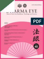 Soto School - Dharma Magazine 40