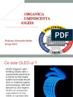 Dioda Organica Electroluminiscenta (Oled)