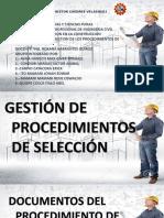 Gestion de Procesos de Seleccion OSEC