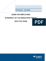 PAYE-GEN-01-G01 - Guide for Employers in Respect of Tax Deduction Tables - External Guide