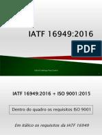 Mudanças IATF 16949:2016