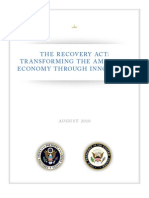 Recovery Act Innovation