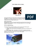How Fiber O,,mptics Work